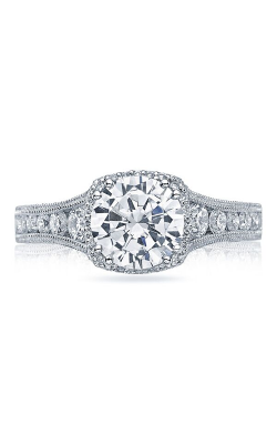 Tacori Reverse Crescent Engagement Ring HT2515RD5512XW