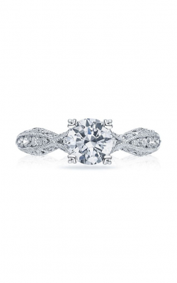 Tacori Classic Crescent Engagement Ring 2578RD6512Y