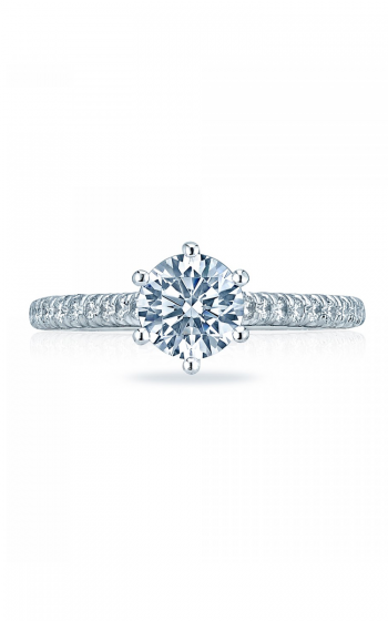 Tacori Petite Crescent Engagement ring HT2546RD65PK product image
