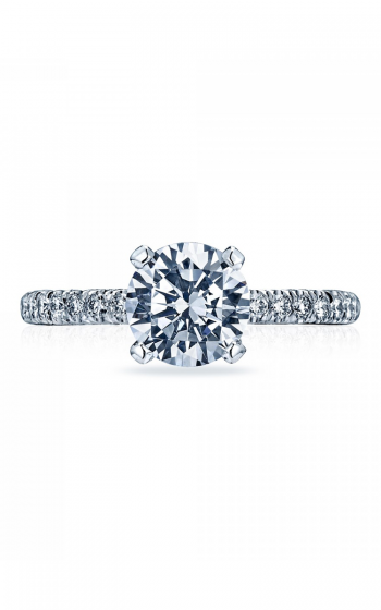 Tacori Petite Crescent Engagement ring HT2545RD product image