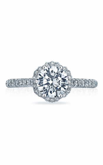 Tacori Petite Crescent Engagement ring HT2547RD7PK product image