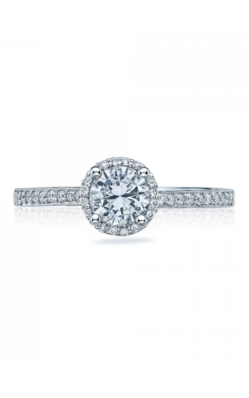 Tacori Sculpted Crescent Engagement ring 49RDP55PK product image