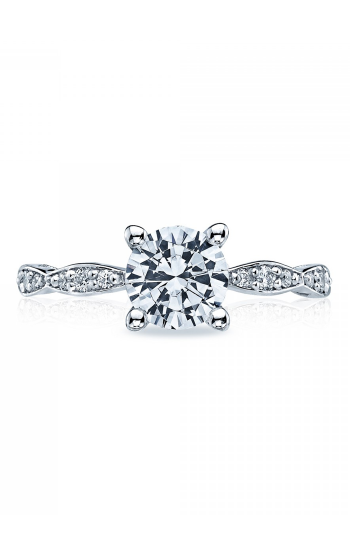 Tacori Sculpted Crescent Engagement ring 46-2RD65W product image