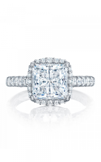 Tacori Petite Crescent Engagement ring HT254725PR8W product image