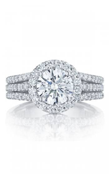 Tacori Petite Crescent Engagement ring HT2551RD75PK product image