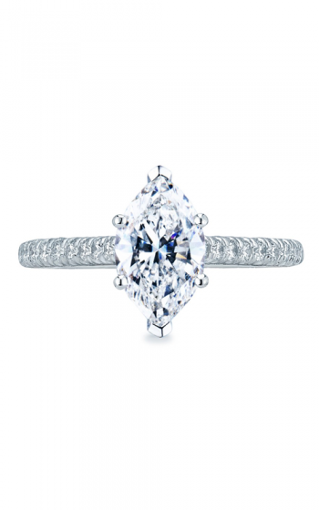 Tacori Petite Crescent Engagement ring HT2546MQ10x5 product image