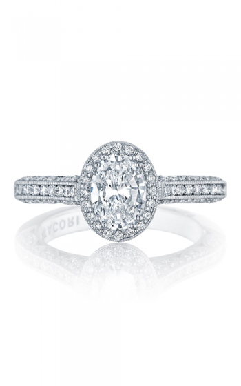 Tacori Classic Crescent Engagement ring HT2550OV75X55 product image