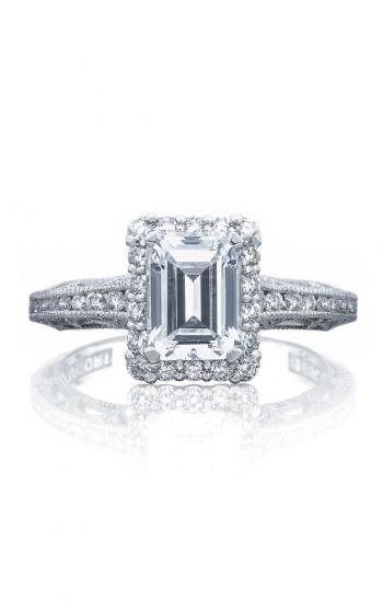 Tacori Reverse Crescent Engagement ring 2618EC75X55PK product image