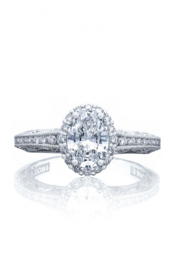Tacori Reverse Crescent Engagement ring 2618OV75X55Y product image