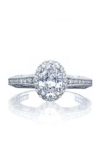 Tacori Reverse Crescent Engagement ring 2618OV75X55 product image