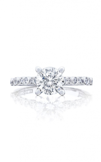 Tacori Sculpted Crescent Engagement ring 201-2RD65 product image