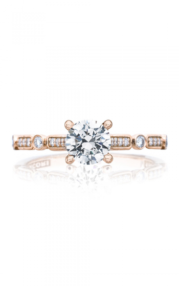 Tacori Sculpted Crescent Engagement ring 202-2RD55PK product image