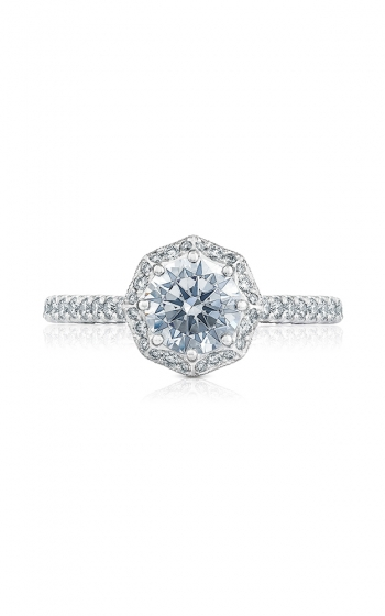 Tacori Petite Crescent Engagement ring HT2555RD65W product image