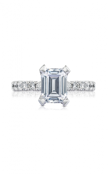Tacori Petite Crescent Engagement ring HT254525EC85X65W product image