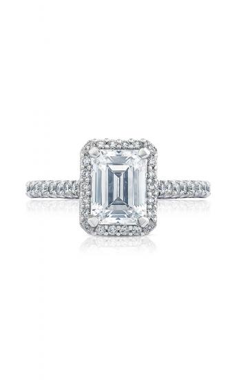 Tacori Petite Crescent Engagement ring HT2547EC8X6W product image
