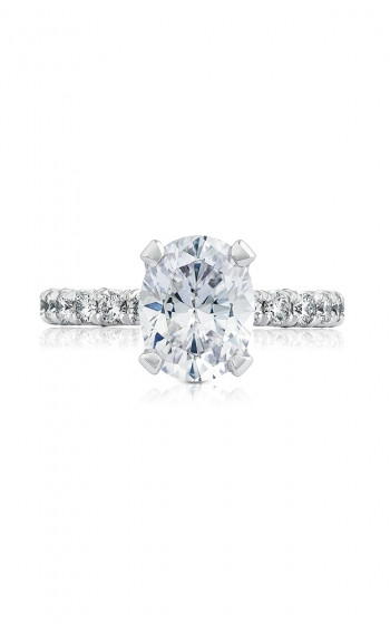 Tacori Petite Crescent Engagement ring HT254525OV95X75PK product image