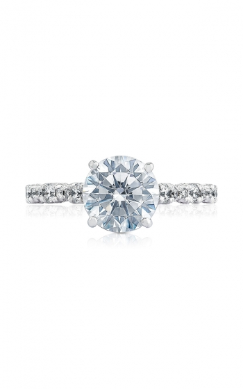 Tacori Petite Crescent Engagement ring HT2558RD8Y product image
