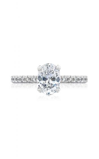 Tacori Petite Crescent Engagement ring HT2545OV8X6 product image