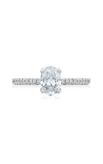Tacori Petite Crescent Engagement ring HT254515OV75X55Y product image