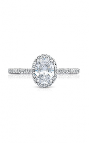 Tacori Petite Crescent Engagement ring HT254715OV75X55PK product image