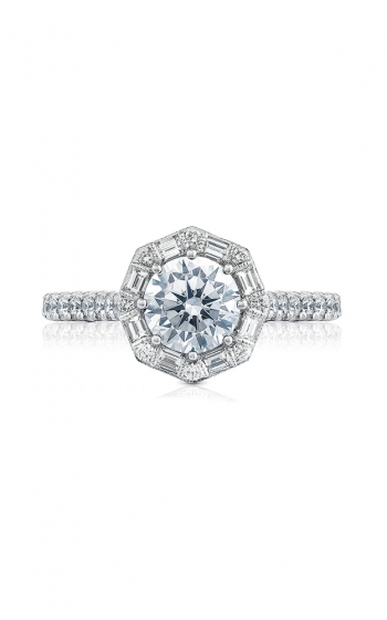 Tacori Petite Crescent Engagement ring HT2556RD65PK product image