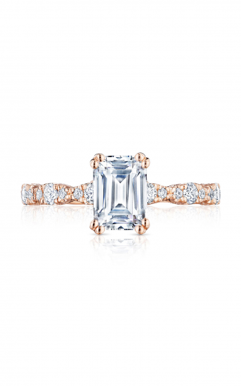 Tacori Petite Crescent Engagement ring HT2559EC75X55PK product image