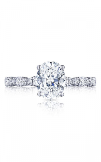 Tacori Petite Crescent Engagement ring HT2559OV85X65PK product image
