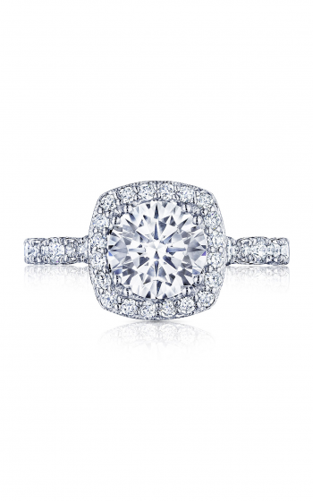 Tacori Petite Crescent Engagement ring HT2560CU75PK product image