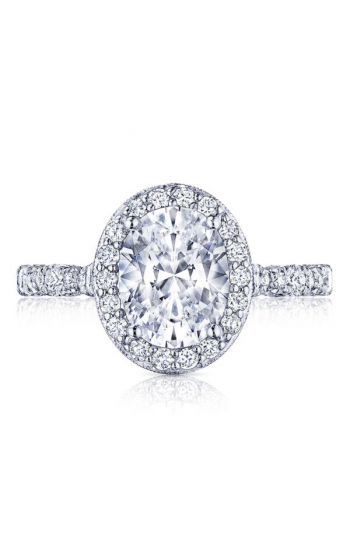 Tacori Petite Crescent Engagement ring HT2560OV9X7PK product image