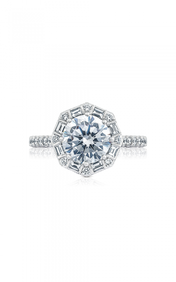 Tacori Petite Crescent Engagement ring HT2556RD8PK product image