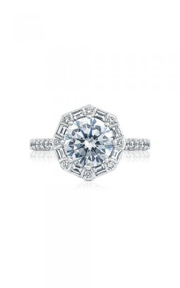 Tacori Petite Crescent Engagement ring HT2556RD8 product image