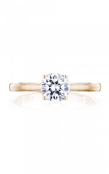 Tacori Coastal Crescent Engagement ring P100RD65FPK product image
