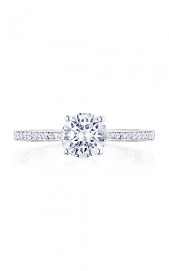 Tacori Coastal Crescent Engagement ring P102RD65FW product image