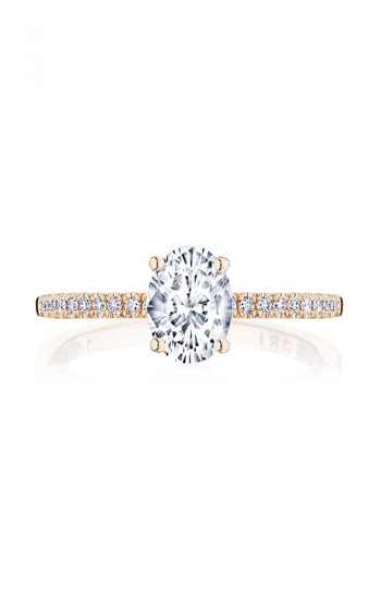 Tacori Coastal Crescent Engagement ring P104OV75X55FPK product image