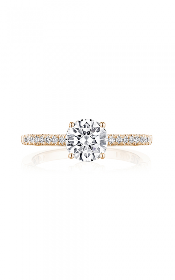 Tacori Coastal Crescent Engagement ring P104RD65FPK product image