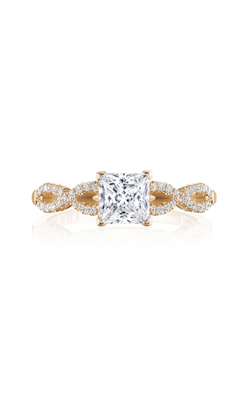 Tacori Coastal Crescent Engagement ring P105PR55FPK product image