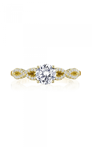 Tacori Coastal Crescent Engagement ring P105RD6FY product image
