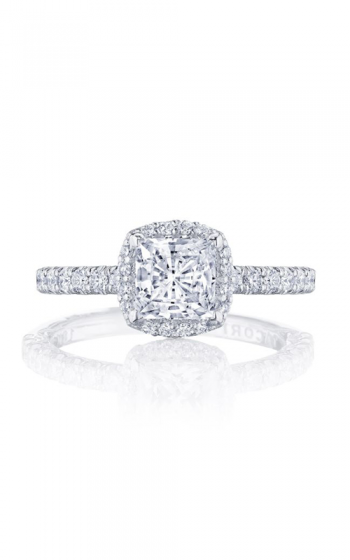 Tacori Petite Crescent Engagement ring HT2572PR55PK product image