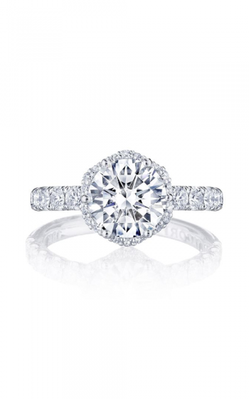 Tacori Petite Crescent Engagement ring HT257225RD8Y product image