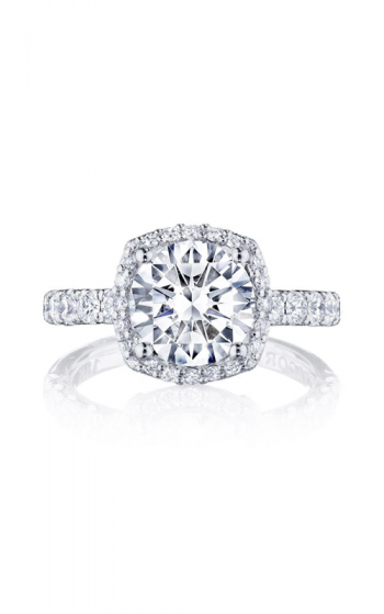 Tacori Petite Crescent Engagement ring HT257225CU85PK product image