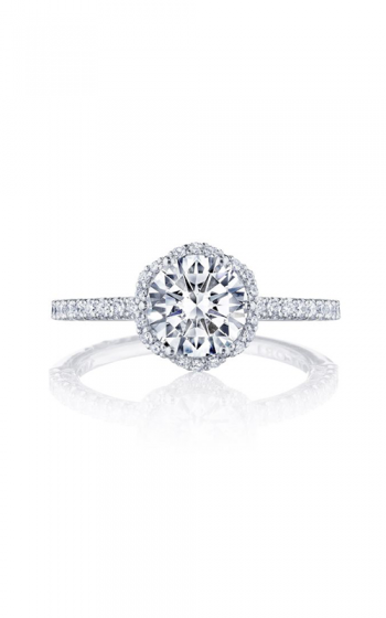 Tacori Petite Crescent Engagement ring HT257215RD7PK product image