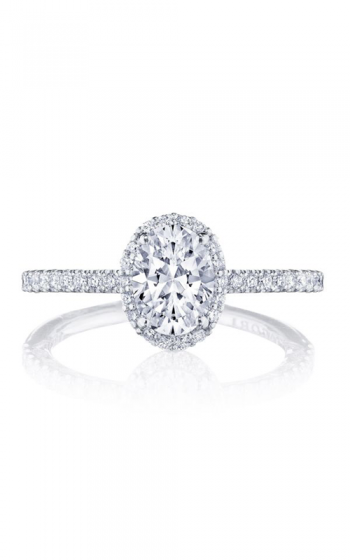 Tacori Petite Crescent Engagement ring HT257215OV75X55PK product image