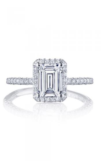 Tacori Petite Crescent Engagement ring HT257215EC75X55PK product image