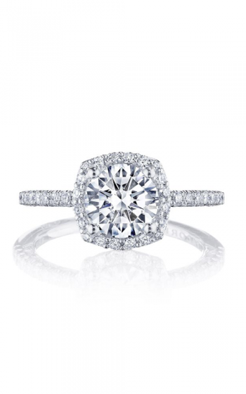 Tacori Petite Crescent Engagement ring HT257215CU7W product image