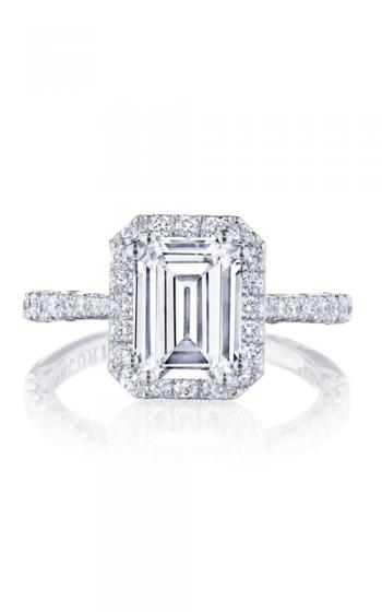Tacori Petite Crescent Engagement ring HT2571EC85X65PK product image