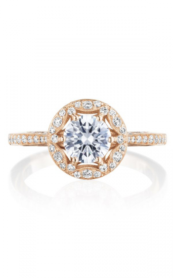 Tacori Crescent Chandelier Engagement ring HT2568RD6PK product image