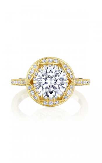 Tacori Crescent Chandelier Engagement ring HT2564RD8Y product image
