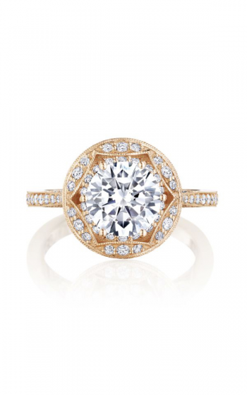 Tacori Crescent Chandelier Engagement ring HT2564RD8PK product image
