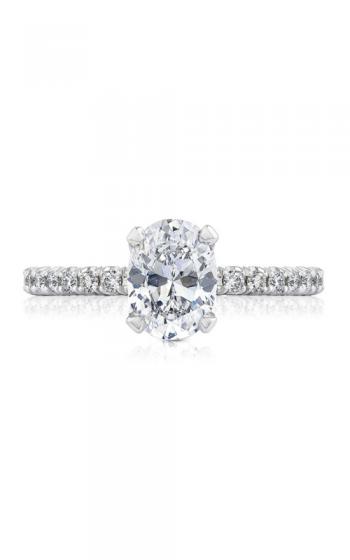 Tacori Petite Crescent Engagement ring HT2545OV85X65PK product image