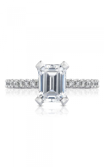 Tacori Petite Crescent Engagement ring HT2545EC75X55W product image
